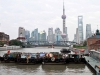 View of Pudong from Suzhou Creek, Shanghai, China
